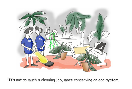 The Eco-Friendly Guide to a Clean Office